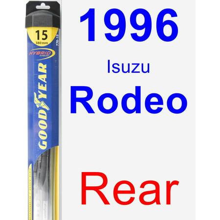 1996 Isuzu Rodeo Rear Wiper Blade - Hybrid