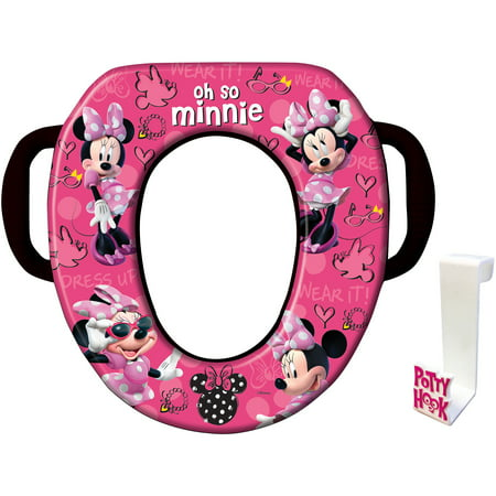 Disney Minnie Mouse Soft Potty Seat Walmart Com