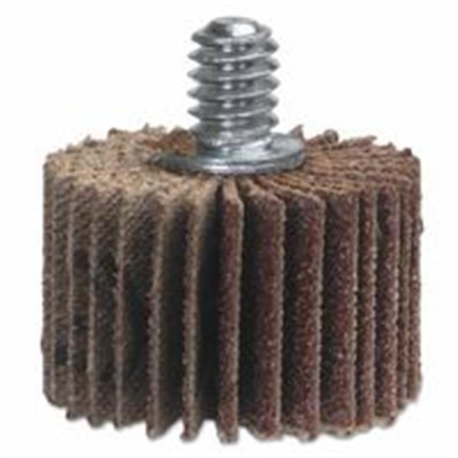 Grit Medium 1//4 Shank Pack of 1 40000 rpm 3//4 Diameter Type III Merit Abrasotex Quick-Change Abrasive Disc Holder
