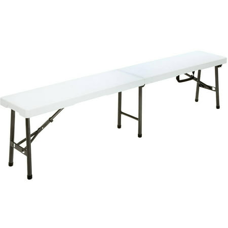 Cool Cosco 6 Blow Mold Centerfold Bench White Andrewgaddart Wooden Chair Designs For Living Room Andrewgaddartcom