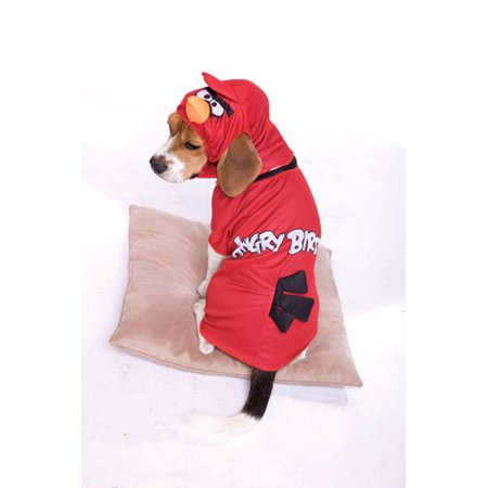 Angry Birds Red Bird Pet - Angry Birds Dog Halloween Costume