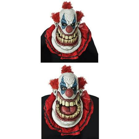 Fatty McClownface Adult Ani-Motion Costume Mask