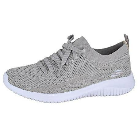 62485097deadd Skechers - Skechers Sport Women's Ultra Flex Statements Sneaker,Taupe,9 M  US - Walmart.com