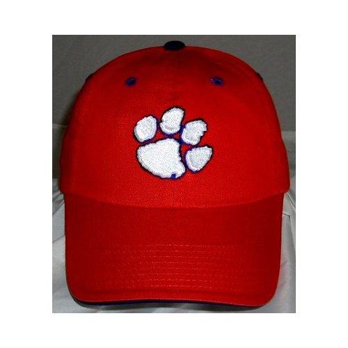 Clemson Tigers Enzyme Washed Adjustable Hat - Orange