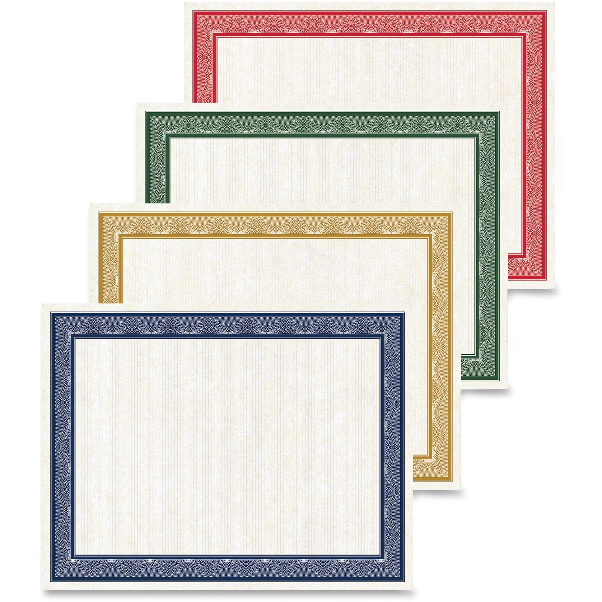 Geographics, GEO48669, Traditional Awards Certificates, 40   Pack, White by Geographics, LLC