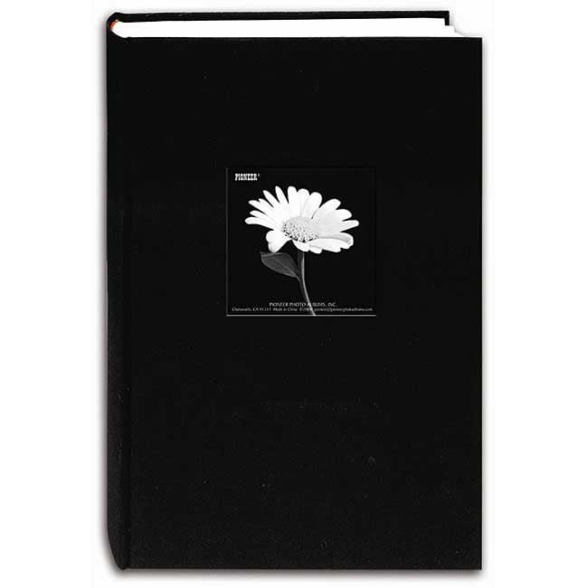 Pioneer Photo Albums Da300cbf Deb Fabric Frame Album 4x6 3 Up 300