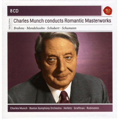 Charles Munch Conducts Romantic Masterworks (Box)