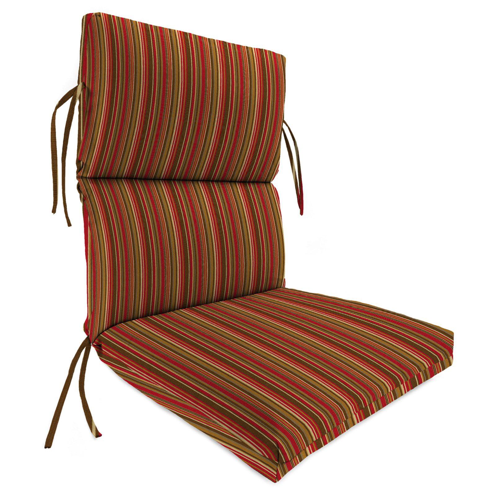 Jordan Manufacturing High Outdura Back 20 in. Dining Chair Cushion