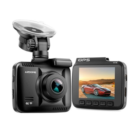 AZDOME GS63H Car DVR Recorder Dash Cam 4K Built-in GPS WiFi Dual Rear Lens Vehicle Camera Camcorder Night Vision Camera - image 1 of 7