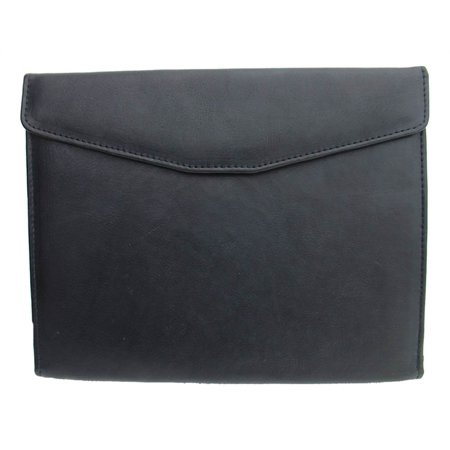Letter-Size Envelope Padfolio with Full Organizer in Black