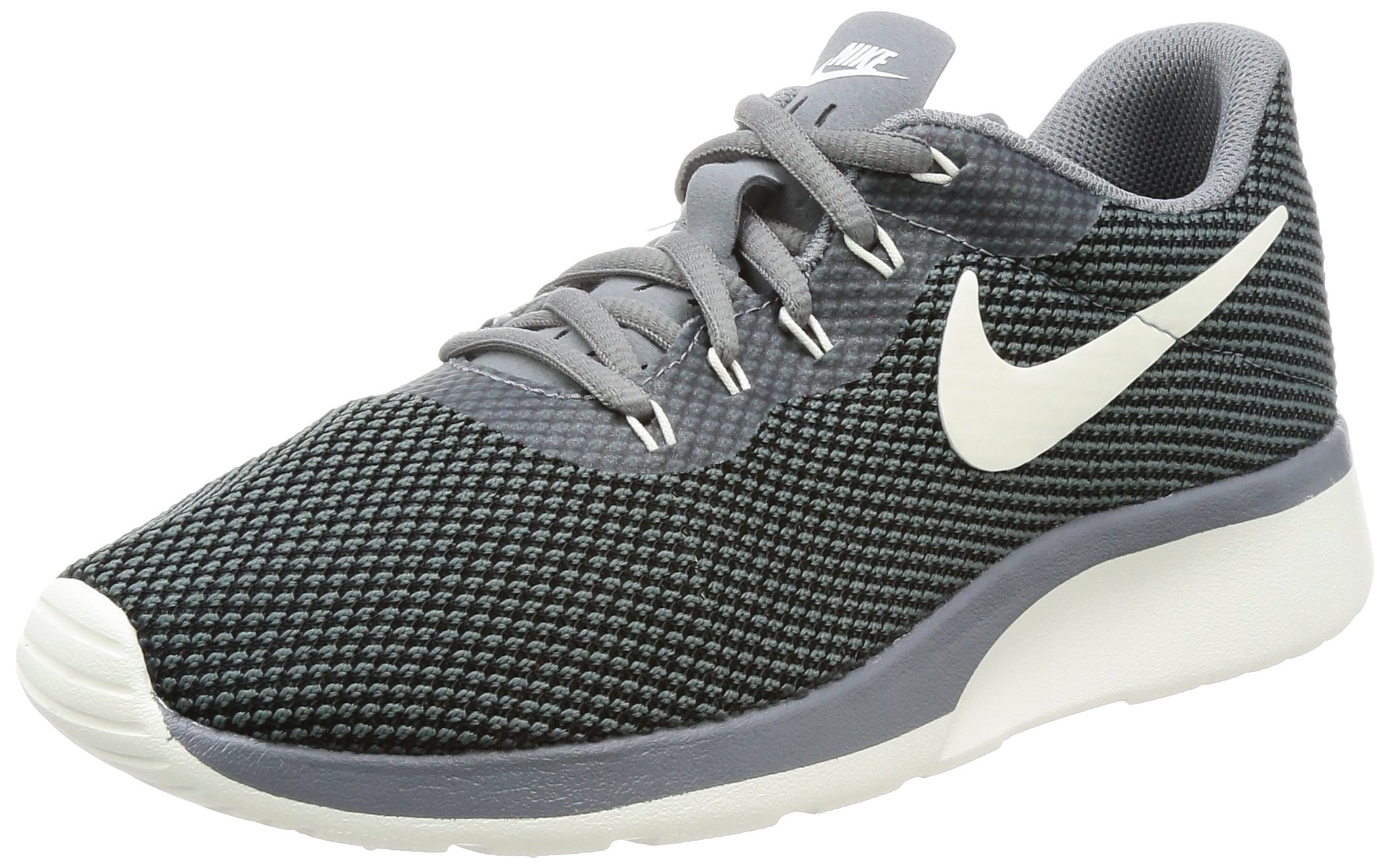 Nike 921668-003 : Women's Tanjun Racer Running Shoe Cool Grey Sail Black by Nike