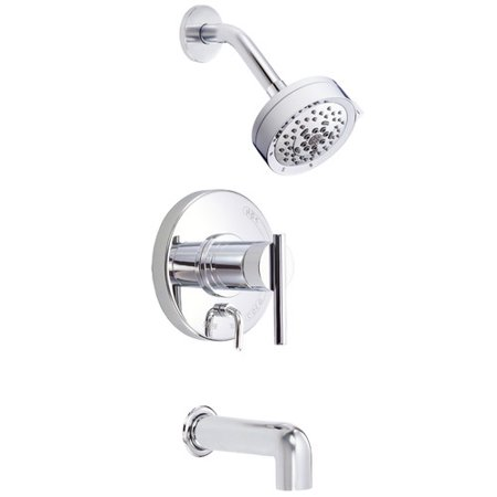 Danze Parma Diverter Tub and Shower Faucet Trim with Lever Handle