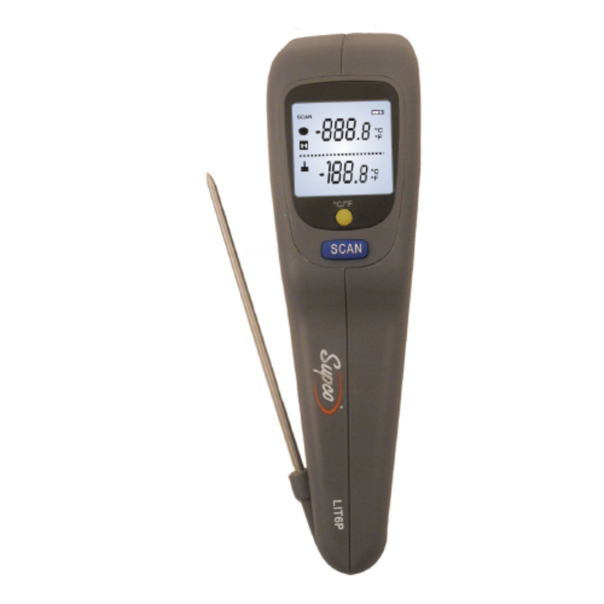 LIT6P Genuine OEM Supco Infrared Thermometer W/ Probe
