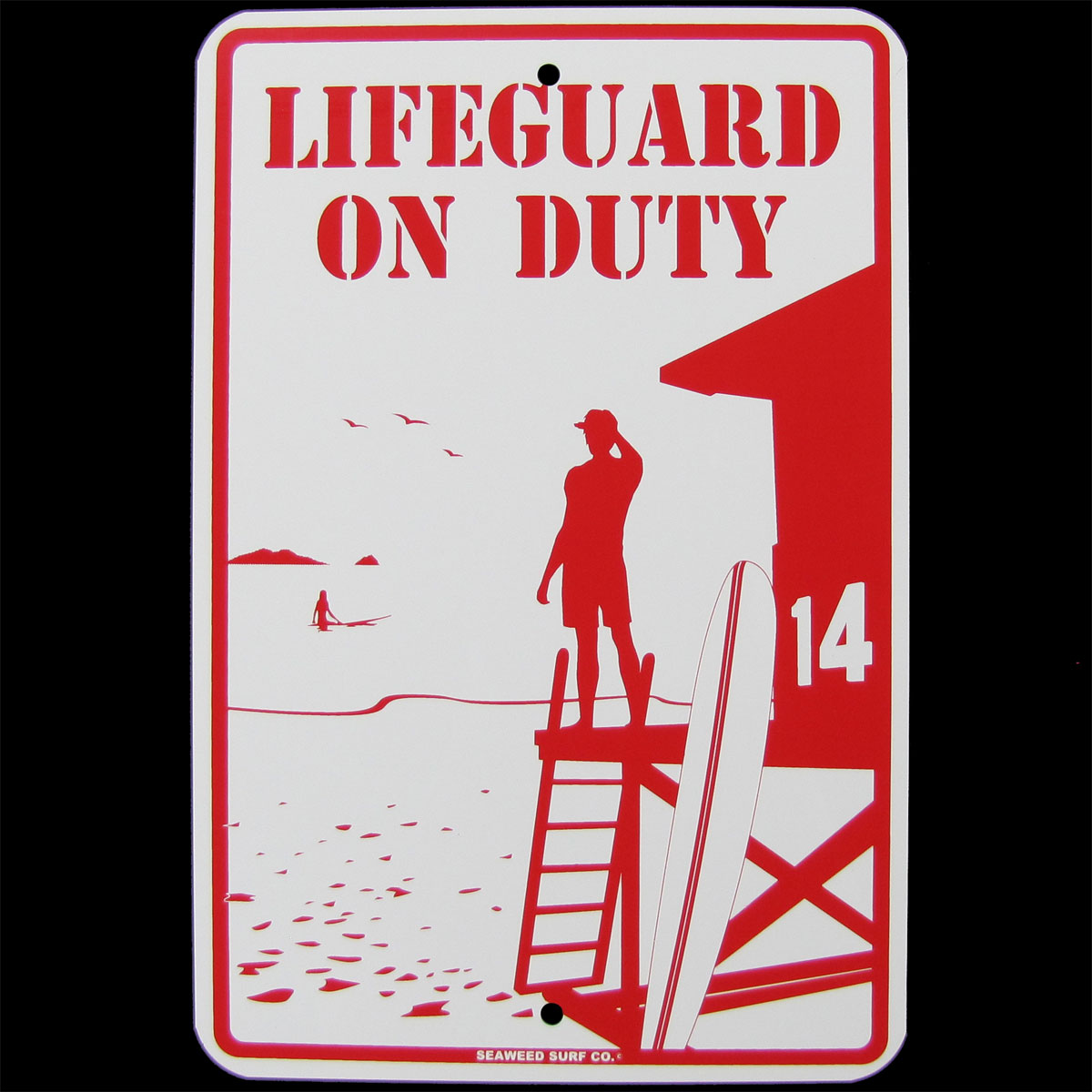 Swim Only When a Lifeguard Is on Duty