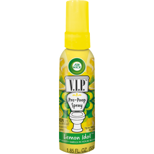Air Wick V.I.P. Pre-Poop Spray, Lemon Idol, 1.85oz