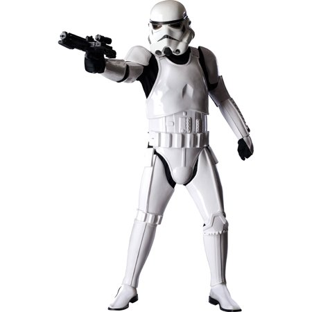 Star Wars Stormtrooper Supreme Adult Halloween Costume - Halloween Fantasy Hairstyles