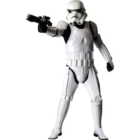 Star Wars Stormtrooper Supreme Adult Halloween Costume](Reel Fantasy Halloween)