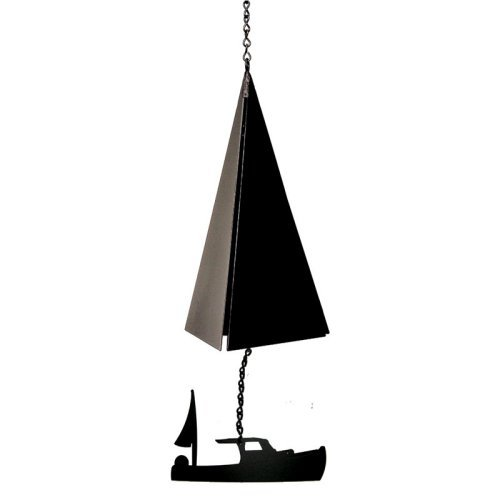 North Country Wind Bells Boothbay Harbor Bell® with Lobster Boat - 3 Tones