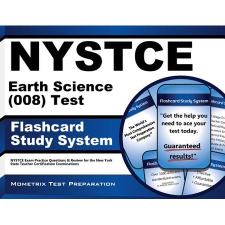 Nystce Earth Science (008) Test Flashcard Study System: Nystce Exam Practice Questions & Review for the New York State Teacher Certification (Rammed Earth Structures A Code Of Practice)