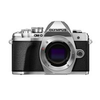 Olympus EM10 Mark III Silver Body 16MP Mirrorless Digital Camera