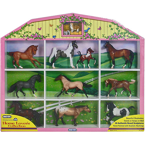 Breyer Stablemates Horse Lover's Collection Shadow Box