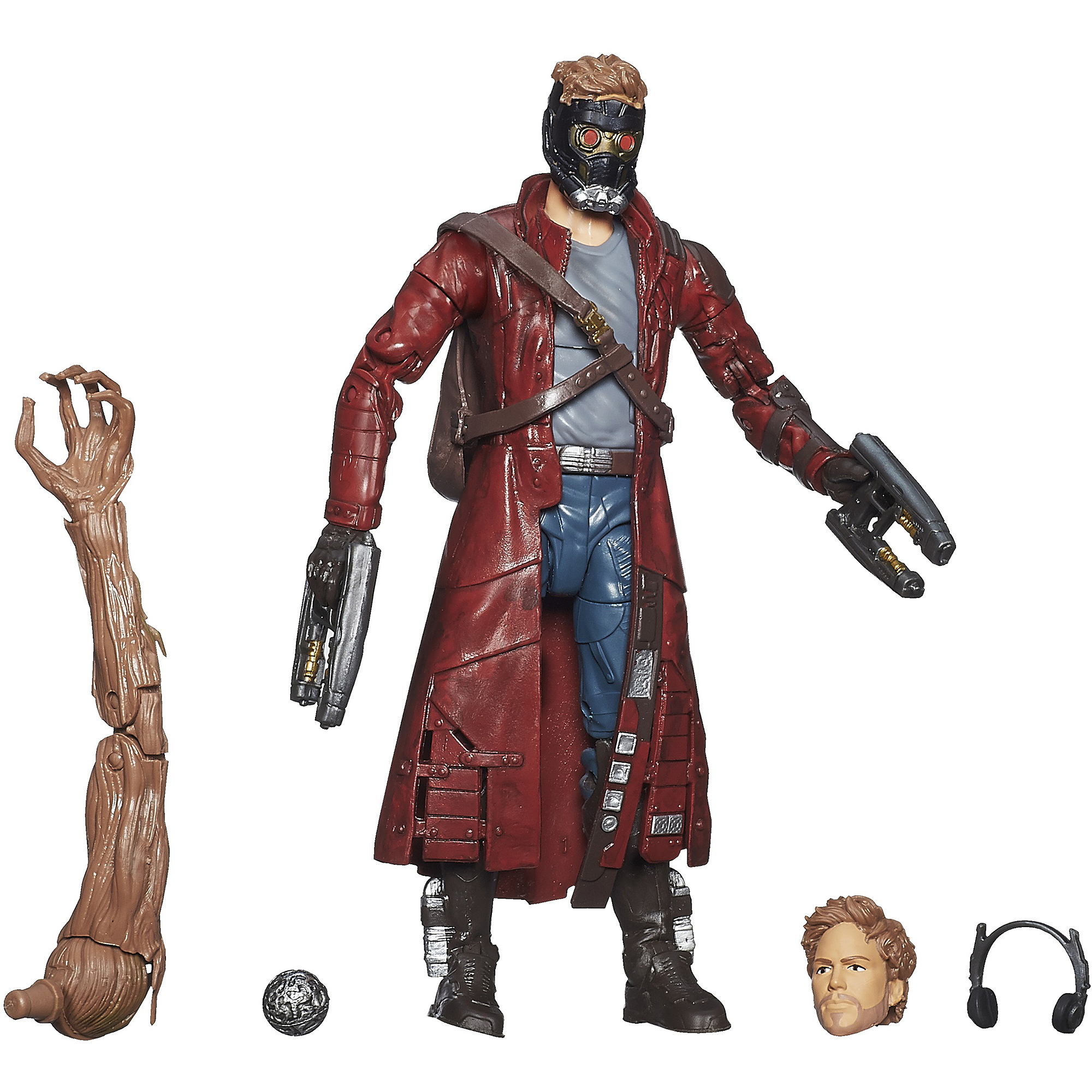 """Marvel Guardians Of The Galaxy Platinum Series Star-Lord Figure 6"""" Action Figure"""