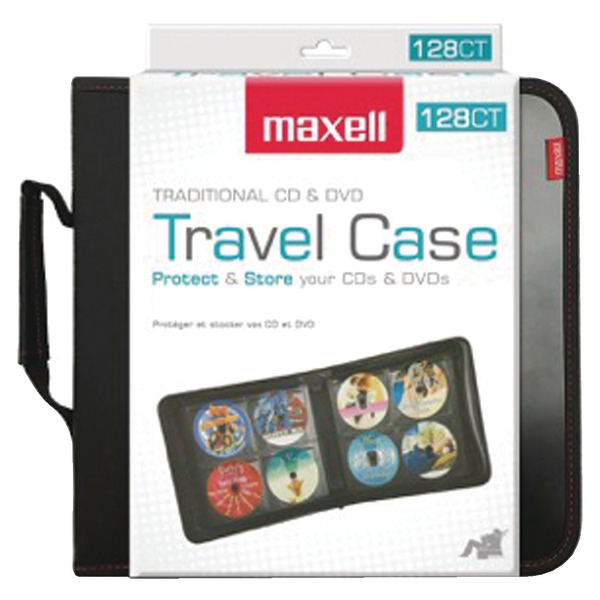 Maxell 190163 128-Capacity CD Storage Case