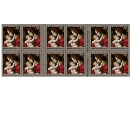 Madonna and Child by Bachiacca Book of 20 Forever USPS First Class one Ounce Postage Stamps (20 Stamps) Christmas ()