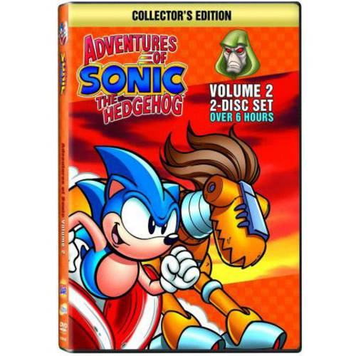 Adventures Of Sonic The Hedgehog: Volume 2 (Collector's Edition) (COLLECTORS)