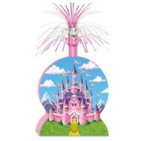 1PK Enchanted Princess Castle Centerpiece ,Item per pack: 1eachSize: 15""