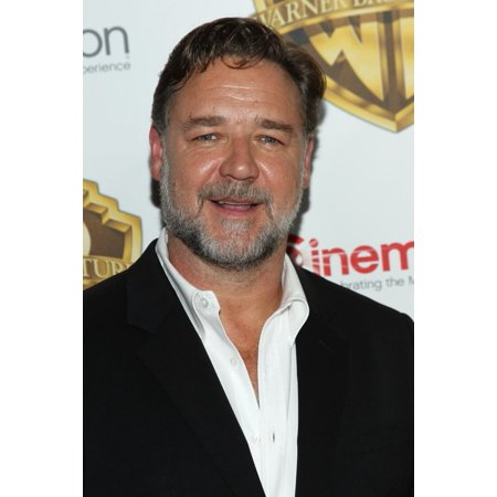 Russell Crowe In Attendance For Warners Bros Cinemacon 2016 Event Caesars Palace Las Vegas Nv April 12 2016 Photo By James AtoaEverett Collection Photo Print](Flashing In Las Vegas)