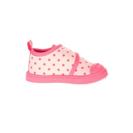 Baby Girl's Printed Hook and Loop Casual Shoe
