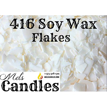 3 Pound Bag of Soy Wax Flakes- Natural Soy 135 (416) Wax a Pure Soy Wax with No Additives. (Wax Bag)