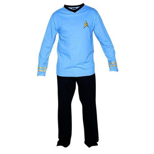 Robe Factory Star Trek Adult Officer Uniform Pajama Set
