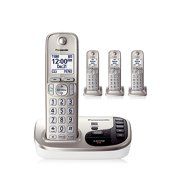 Refurbished Panasonic KX-TGD224N Expandable Digital Cordless Answering System with 4 Handsets