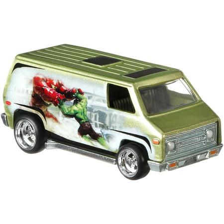 Utility Van (Hot Wheels Premium 1:64 Scale Die-cast Suepr Van)
