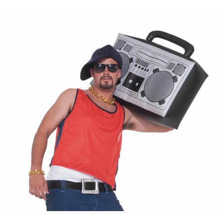 Inflatable Boom Box Halloween Accessory