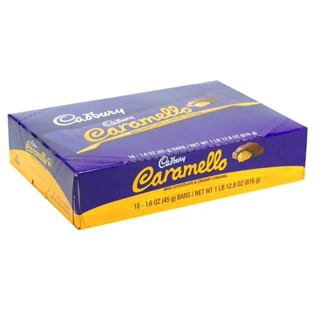 Caramello Bar - Cadbury Caramello Milk Choc 18Ct - Pack Of 18