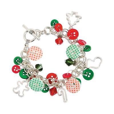 - IN-13710451 Holiday Button & Bead Bracelet Craft Kit