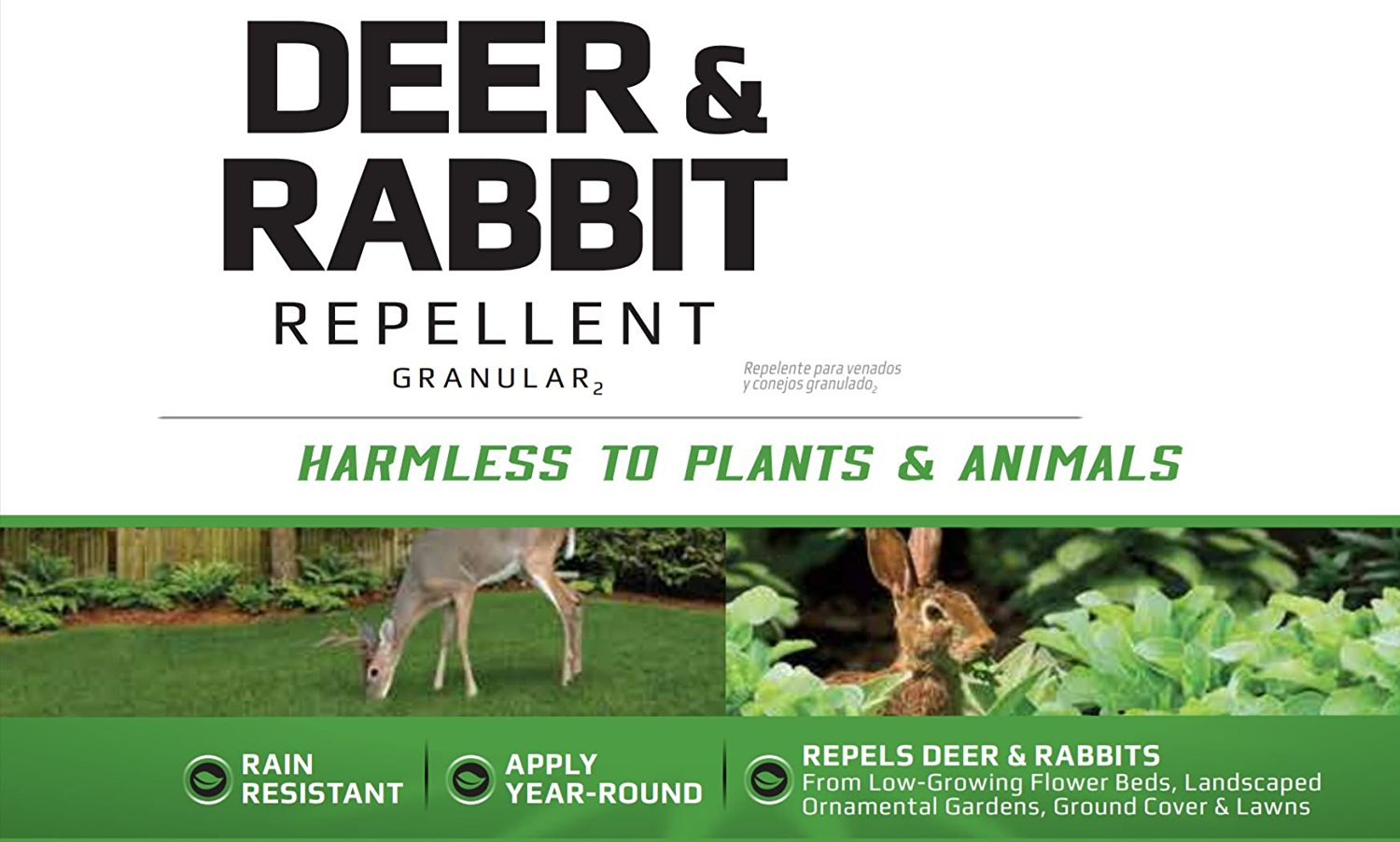 Liquid Fence Deer And Rabbit Repellant Concentrate 32 Oz