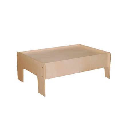 Little Colorado Play Table - Little Colorado Kids Learning Activity Play Table Natural Laquer - Little Colorado Kids Learning Activity Play Table Natural Laquer