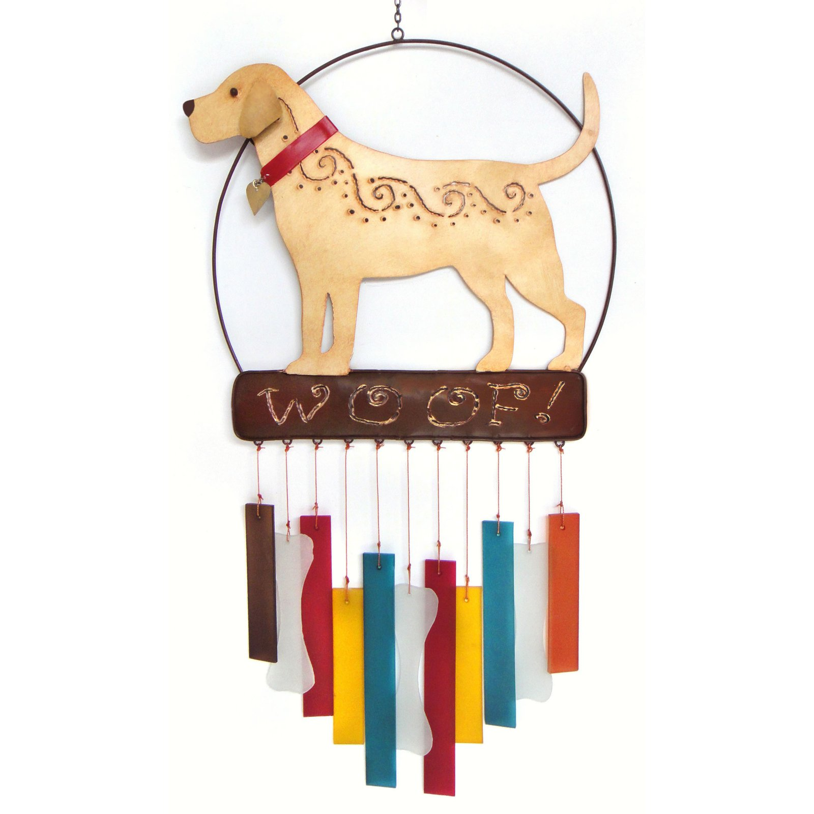 Gift Essentials Lab Woof Wind Chime