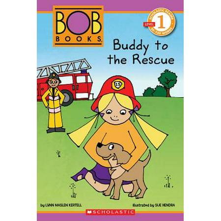 Scholastic Reader Level 1: Bob Books: Buddy to the Rescue - Halloween Quiz Level 18