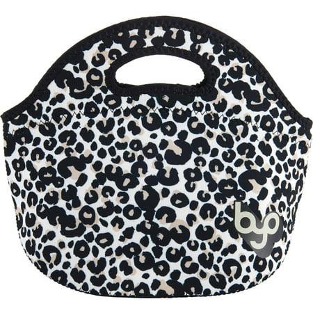 BYO Rambler Lunch Bag, Posh Leopard Black and White