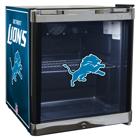 NFL Refrigerated Beverage Center 1.8 cu ft- Detroit Lions by