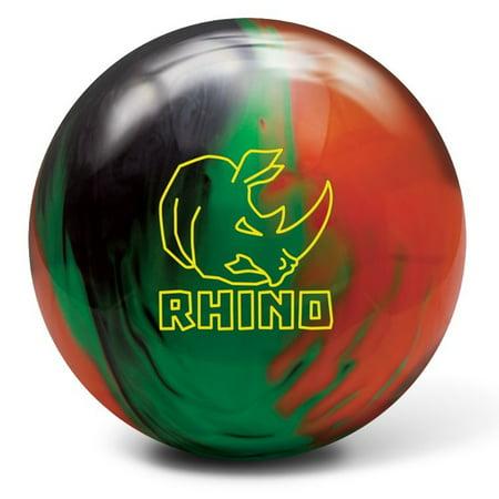 Brunswick Rhino Reactive Bowling Ball- Black/Green/Orange
