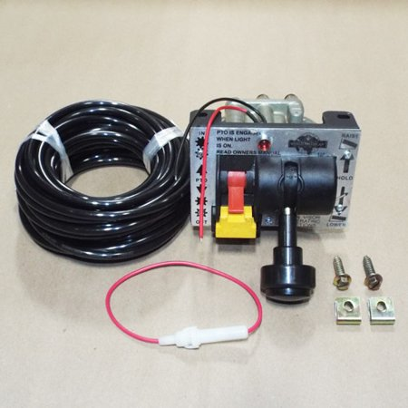 CONTROL VALVE - DUAL VALVE (PTO & DUMP PUMP) AIR KIT WITH KICKOUT