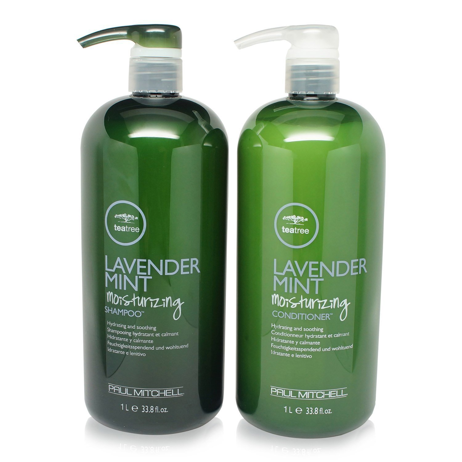 Paul Mitchell Lavender Mint Hydrating Shampoo and Conditioner 33.8 OZ DUO