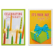 American Greetings 12 Count Happy Birthday Cards And Envelopes Assorted Bundle Image 3 Of 4