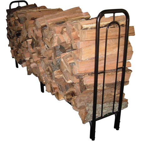 Landmann USA 8' Contemporary Arch Log Rack, Bronze